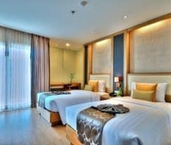 The ASHLEE Plaza Patong Hotel & Spa is located at 34/50-57 Prachanukhro Road