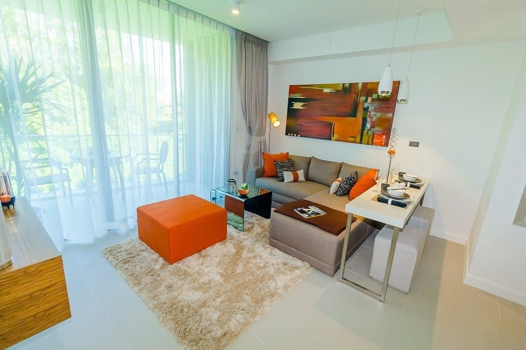 2 bedroom / 1 bathroom Apartment in Cherng Talay is available for sale, or re-sale.