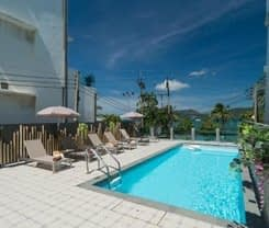 Destinaation Patong Boutique hotel by the sea. Location at 30/8 Thaweewong Road