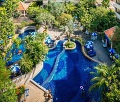 The Royal Paradise Hotel & Spa is located at Rat-U-Thit 200 Pee Road Phuket on Phuket island. The Royal Paradise Hotel & Spa has a guest rating of 8.1 and has Hotel amenities including: Swimming Pool
