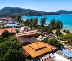 Tropica Bungalow Hotel. Location at 132 Taweewong Rd., Patong Beach