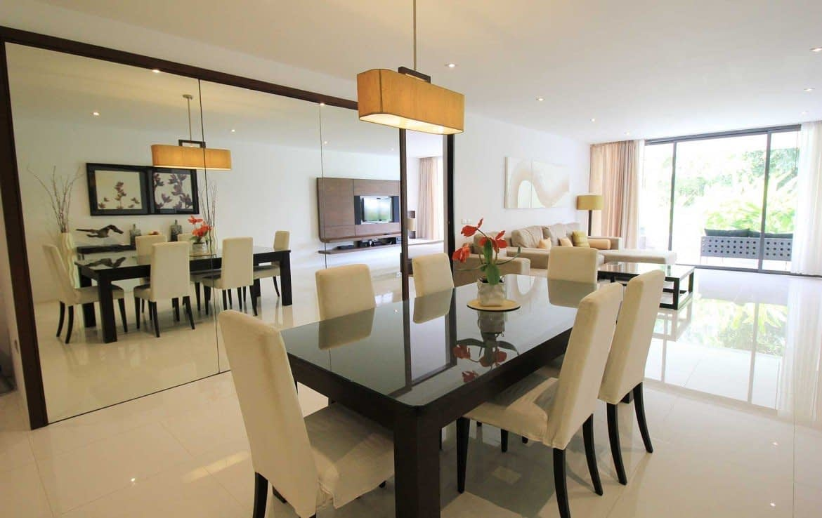 2 bedroom / 2 bathroom Apartment in Surin is for sale, or re-sale.