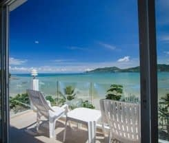 The Front Hotel and Apartments. Location at 30-38 Thaveewong rd., Patong Beach, Kathu, Phuket