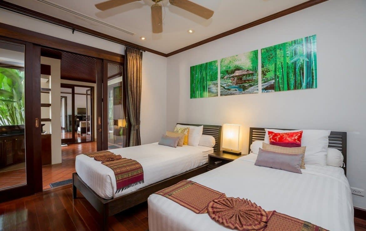 This 4 bedroom / 4 bathroom Villa for sale is located in Bangtao on Phuket