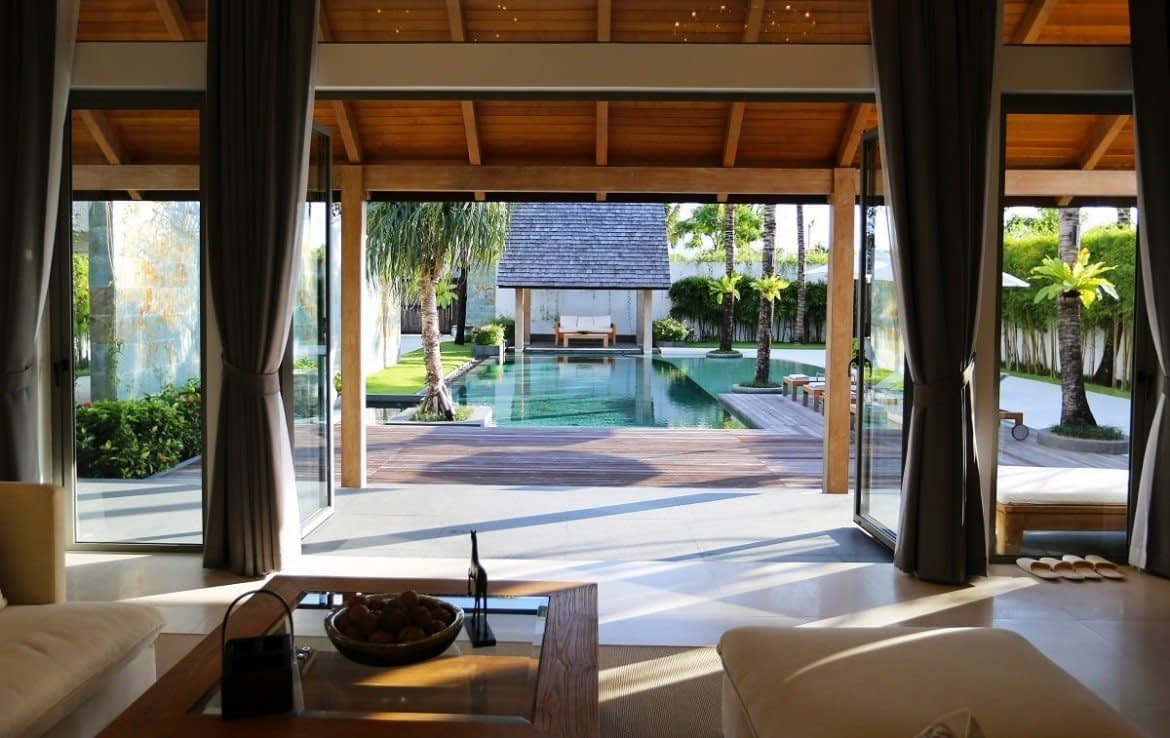 This 4 bedroom / 3 bathroom Villa for sale is located in Layan on Phuket