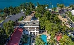 Patong Lodge Hotel is located at 284/1 Prabaramee road