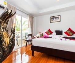 Silver Resortel is located at 3/37 Sawadirak RD.Patong Beach on the island of Phuket. Silver Resortel has a guest rating of 8.5 and has Hotel amenities including: Parking