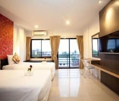 Chill Patong Hotel is located at 18 - 18/3 Rat-u-thit 200 pee Rd. Patong Kathu on Phuket island. Chill Patong Hotel has a guest rating of 7.6 and has Hotel amenities including: Bar